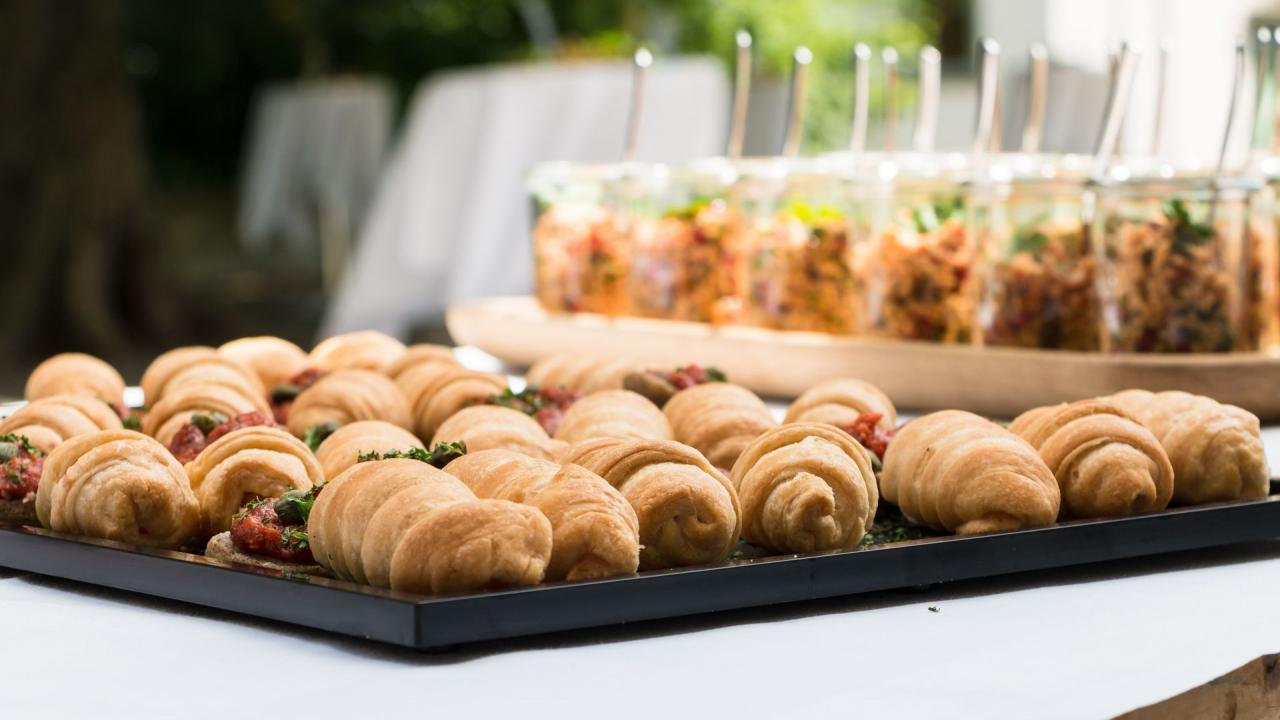 Festliches Catering