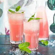Limonade au grapefruit
